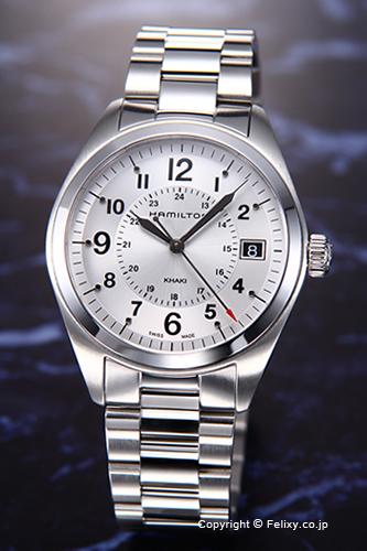 HAMILTON ハミルトン 腕時計 Khaki Field Quartz (カーキ フィールド クォーツ) シルバー H68551153