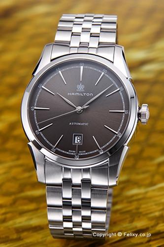 ハミルトン HAMILTON 腕時計 メンズ Spirit Of Liberty アンスラサイト H42415091