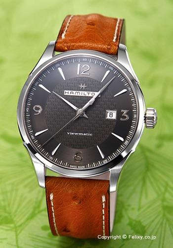 ホットセール ハミルトン HAMILTON 腕時計 H32755851 Jazzmaster Viewmatic Viewmatic HAMILTON Auto H32755851, 健康ショップ ふるぼちゃん:b244bcad --- canoncity.azurewebsites.net