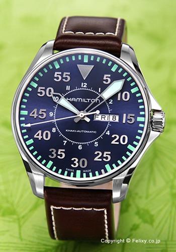 ハミルトン HAMILTON 腕時計 Khaki Pilot Auto H64715545