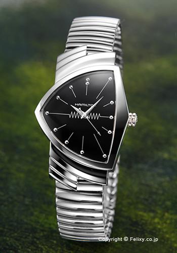 ハミルトン HAMILTON 腕時計 Ventura Flex (ベンチュラ フレックス) H24411232 【あす楽】