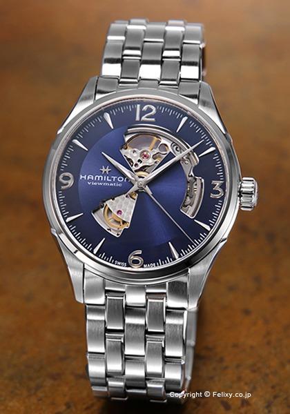 ハミルトン HAMILTON 腕時計 Jazzmaster Open Heart Auto H32705141 【あす楽】