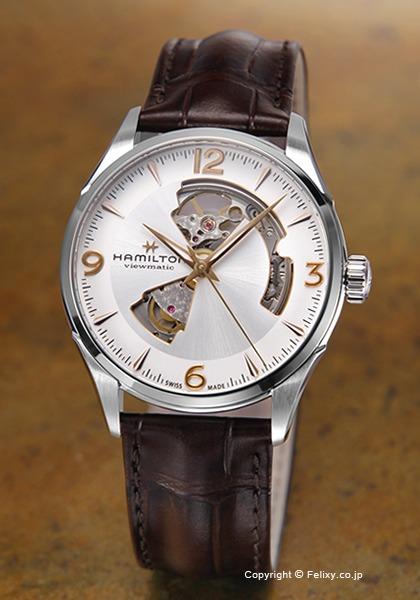ハミルトン HAMILTON 腕時計 Jazzmaster Open Heart Auto H32705551