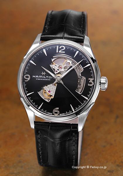 ハミルトン HAMILTON 腕時計 Jazzmaster Open Heart Auto H32705731 【あす楽】