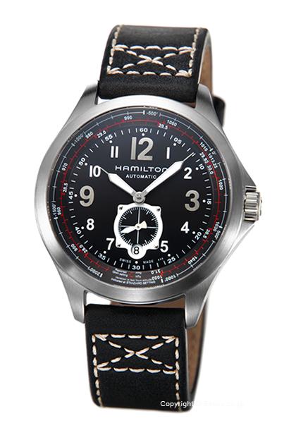 ハミルトン 時計 HAMILTON メンズ 腕時計 Khaki Aviation QNE Auto H76655733