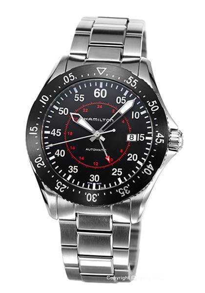 ハミルトン 時計 HAMILTON メンズ 腕時計 Khaki Aviation Pilot GMT H76755135
