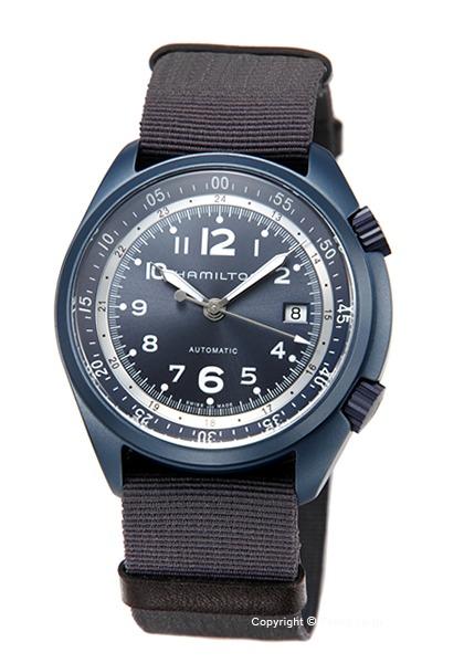 ハミルトン 時計 HAMILTON メンズ 腕時計 Khaki Pilot Pioneer Aluminum Auto H80495845