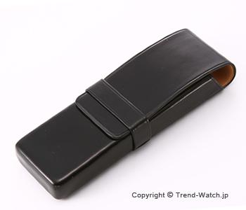 イルブセット ペンケース 2本用 Il bussetto 06-004 ブラック