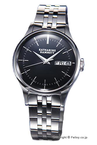 キャサリンハムネット 時計 KATHARINE HAMNETT 腕時計 メンズ KH20G5-B34 ENGLISH SLICK ブラック