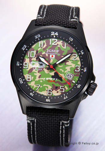 ケンテックス 腕時計 JSDF迷彩モデル S715M-08