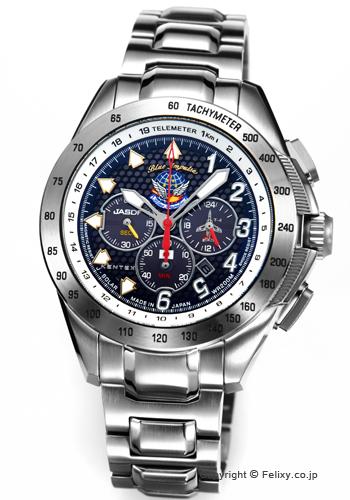 ケンテックス 腕時計 Blue Impulse T-4 20TH (ブルーインパルス・T-4 20周年記念) S720M-04 ソーラークロノグラフ