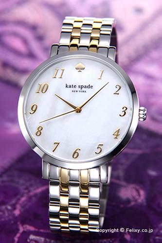 ケイトスペード 時計 レディース KATE SPADE 腕時計 Monterey(モントレー) ホワイトパール×ゴールドツートン 1YRU0848 【あす楽】