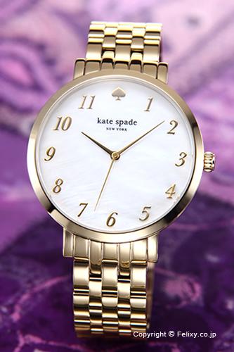 ケイトスペード 時計 レディース KATE SPADE 腕時計 Monterey(モントレー) ホワイトパール×ゴールド 1YRU0847 【あす楽】