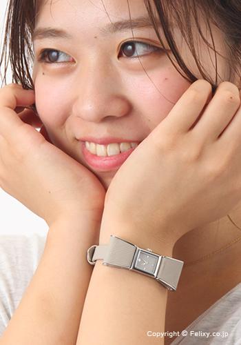 凱特黑桃手錶女士KATE SPADE Kenmare(肯泥灰)鐘表塔灰色×銀子1YRU0926