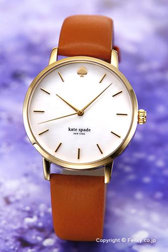 ケイトスペード 時計 レディース KATE SPADE 腕時計 Metro KSW1142 【あす楽】