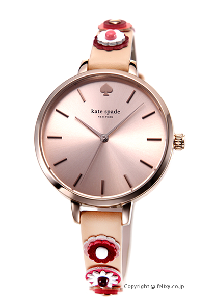 ケイトスペード 時計 レディース KATE SPADE 腕時計 Metro Western Floral KSW1463 【あす楽】