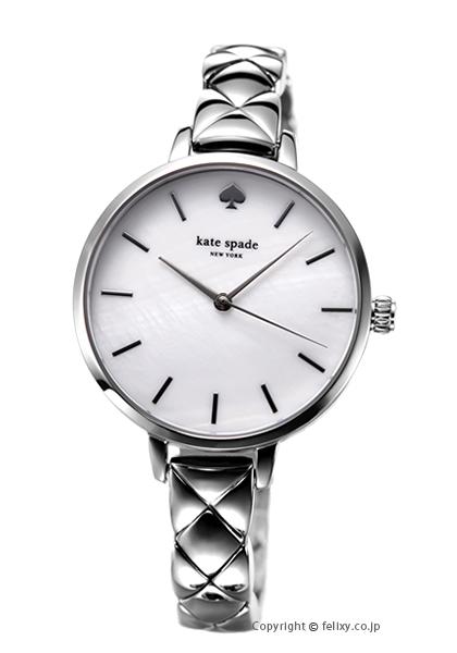 ケイトスペード 時計 レディース KATE SPADE 腕時計 Metro Quilted Link KSW1465 【あす楽】