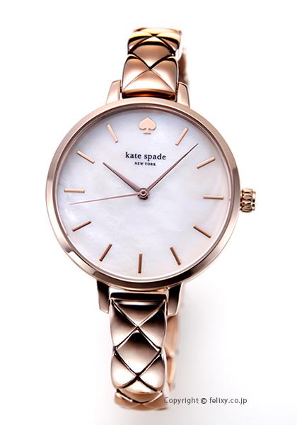 ケイトスペード 時計 レディース KATE SPADE 腕時計 Metro Quilted Link KSW1466 【あす楽】