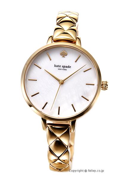 ケイトスペード 時計 レディース KATE SPADE 腕時計 Metro Quilted Link KSW1471 【あす楽】