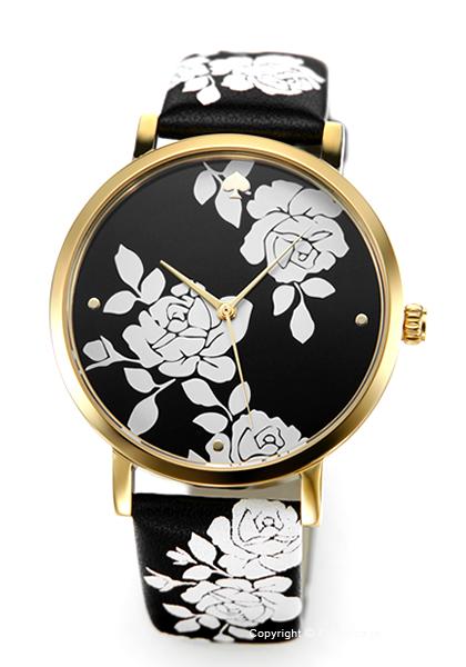 ケイトスペード 時計 レディース KATE SPADE 腕時計 Metro Floral KSW1498 【あす楽】