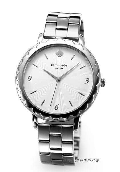 ケイトスペード 時計 レディース KATE SPADE 腕時計 Slim Metro Scallop KSW1493 【あす楽】