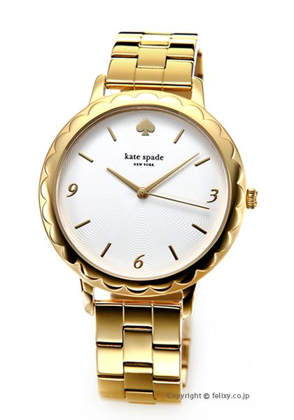 ケイトスペード 時計 レディース KATE SPADE 腕時計 Slim Metro Scallop KSW1494 【あす楽】