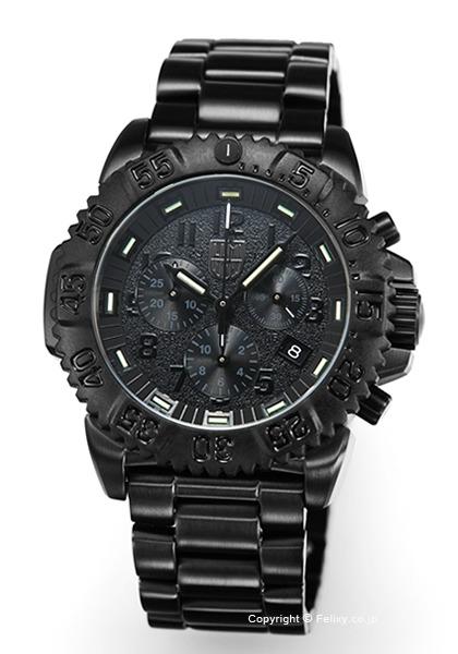 ルミノックス LUMINOX 腕時計 NAVY SEALs STEEL COLORMARK CHRONOGRAPH 3180 SERIES 3182.BO.L 【あす楽】