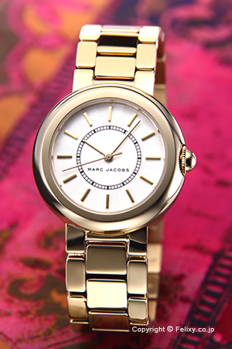 マークジェイコブス 時計 レディース MARC JACOBS 腕時計 コートニー ゴールド MJ3465 【あす楽】