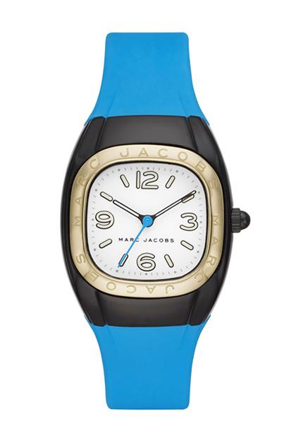 マークジェイコブス 時計 MARC JACOBS レディス 腕時計 Unibody 36 Black Blue Strap MJ1649