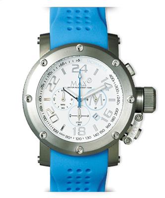 マックス 腕時計 MAX XL WATCHES クロノグラフ 47mm ホワイト 5-MAX512 【MAX XL WATCH】【マックス 時計】