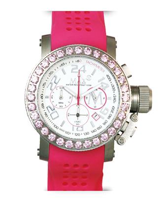マックス 腕時計 MAX XL WATCHES クロノグラフ 42mm ホワイト(Withラインストーン) 5-MAX505 【MAX XL WATCH】【マックス 時計】