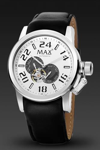 マックス 時計 5-MAX530 MAX XL WATCHES 送料無料 正規代理店商品 腕時計 本日限定 コレクション 47mm クラシック オートマチック MAX時計 大幅値下げランキング シルバー