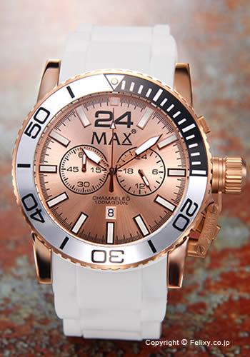 MAX XL WATCHES マックス メンズ腕時計 2013 Special Edition CHAMAELEO (2013年スペシャルエディション カメレオン) ローズゴールド 5-MAX568 【マックス 時計】