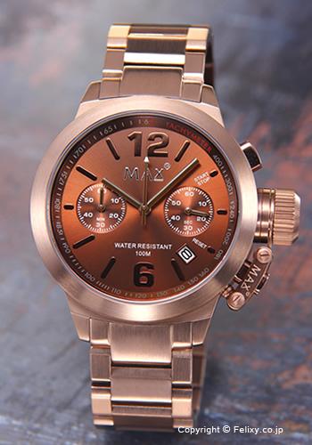 MAX XL WATCHES マックス メンズ腕時計 オールブラウン 5-MAX578【あす楽】