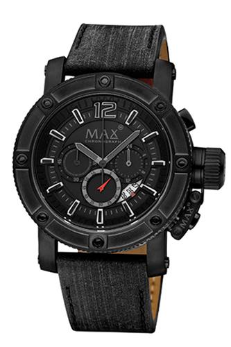 マックス 腕時計 MAX XL WATCHES The Chronograph (ザ クロノグラフ) オールブラック 5-MAX661