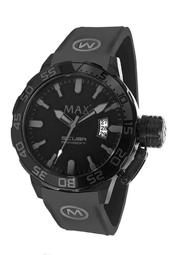 マックス 腕時計 MAX XL WATCHES The Scuba (ザ スクーバ) オールブラック×グレー 5-MAX695