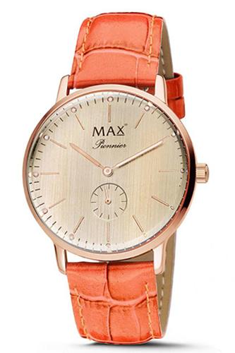 マックス 腕時計 MAX XL WATCHES パイオニア ライトローズゴールド/オレンジ 5-MAX730