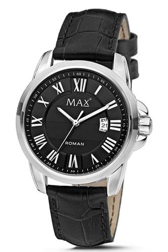 マックス 腕時計 MAX XL WATCHES ローマン ブラック 5-MAX751