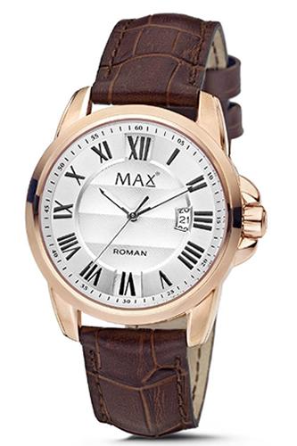 マックス 腕時計 MAX XL WATCHES ローマン シルバー×ローズゴールド 5-MAX752