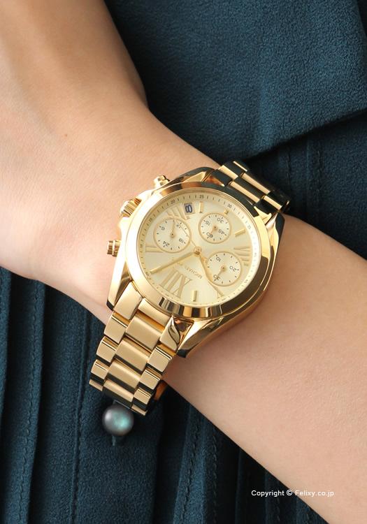 70f462f0fac2 MICHAEL KORS Michael Kors Lady s watch MK5798 Bradshaw Chronograph Mini ( Bradshaw chronograph mini) gold