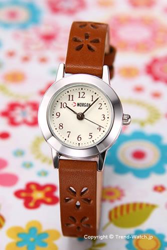 1万円以上お買い上げで送料無料 日本メーカー新品 半額 モルガン MORGAN 腕時計 MG304-1 クリーム レディース 時計
