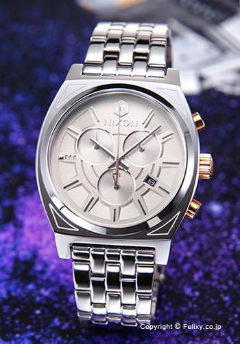 ニクソン NIXON 腕時計 タイムテラー クロノ スターウォーズコレクション ファズマ シルバー A972SW2445 【あす楽】