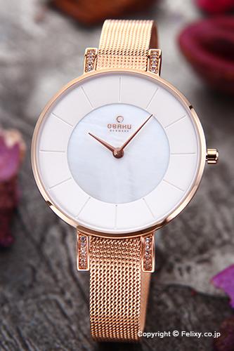 オバク 腕時計 レディース OBAKU Denmark V158LEVWMV 【あす楽】