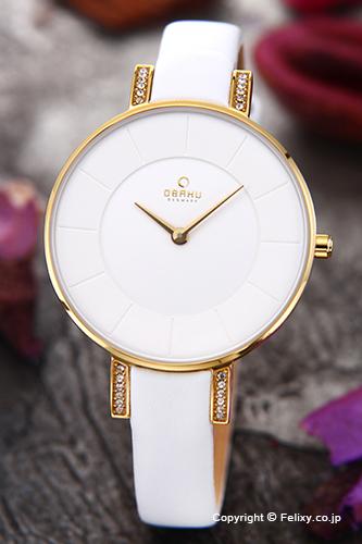 オバク 腕時計 レディース OBAKU Denmark V158LEGIRW 【あす楽】