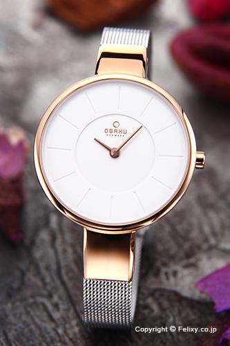 オバク 腕時計 レディース OBAKU Denmark V149LXVIMC 【あす楽】