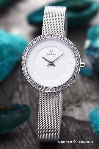 オバク 腕時計 レディース OBAKU Denmark V146LECIMC 【あす楽】