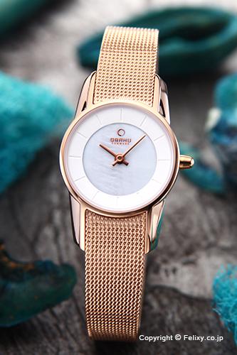 オバク 腕時計 レディース OBAKU Denmark V130LXVWMV 【あす楽】