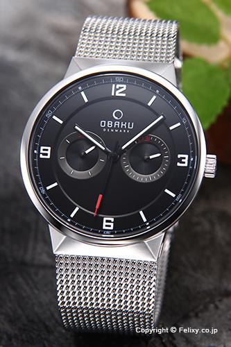 オバク 腕時計 メンズ OBAKU Denmark V170GMCBMC デイデイト 【あす楽】