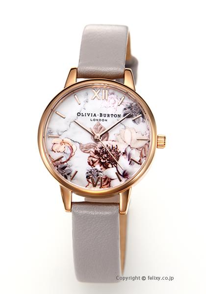 オリビアバートン OLIVIA BURTON 腕時計 MARBLE FLORALS G.LILAC&ROSEGOLD OB16CS14 【あす楽】