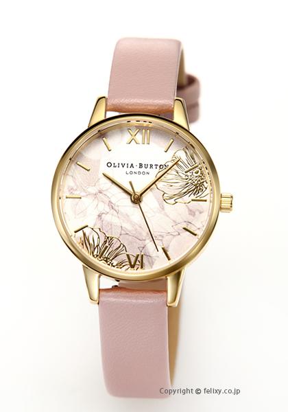 オリビアバートン OLIVIA BURTON 腕時計 ABSTRACT FLORAL VEGAN ROSE SAND & GOLD OB16VM31 【あす楽】